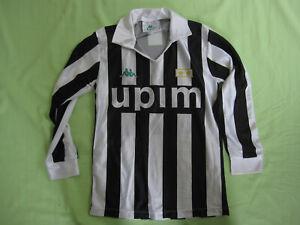 Maillot Juventus UPIM 1990 Kappa vintage shirt juve calcio Enfant - 10 / 12 ans