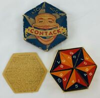 1939 Contack Game by Parker Brothers Complete in Good Condition FREE SHIPPING