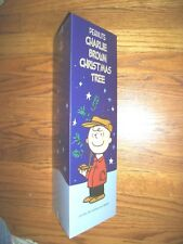 THE ORIGINAL CHARLIE BROWN MUSICAL 24 INCH CHRISTMAS TREE 2015