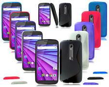 Étuis, housses et coques Motorola Moto G en silicone, caoutchouc, gel pour téléphone mobile et assistant personnel (PDA)