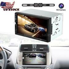 "2 DIN 7"" HD Car Radio MP5 Player Bluetooth FM USB/TF Aux IN+ Reversing Camera"