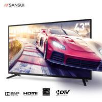 "SANSUI TV 24"" 32"" 40"" 43'' TV  LED TV TV with Flat Screen HDMI (2019 Model)"