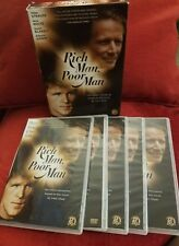 Rich Man, Poor Man: The Complete Collection **LIKE NEW/FREE SHIPPING **