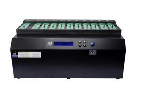 Ureach 1:10 M.2 PCIe U.2 NVMe SATA SSD Duplicator/Sanitizer 24GB/Min NV-BM1100