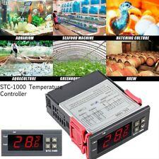 STC-1000 110V-220V Alarm Temperature Controller Thermostat Aquarium Sensor US