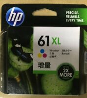 HP 61XL Tri Color Ink Cartridge CH564WN - Money Back Guarantee
