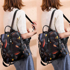 Women Fashion Backpack Waterproof Nylon Bag Anti-Theft Shoulder Bag Leisure Bags