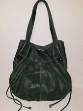 LUCKY Italian Leather Shoulder Handbag