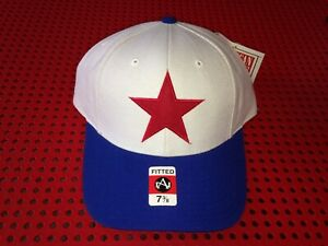 American Needle Detroit Stars Negro Leagues fitted hat size 7 3/8 nwt
