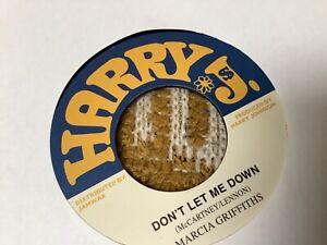 """Marcia Griffiths , Don't Let Me Down , What Happen Man , 7"""" Harry J"""
