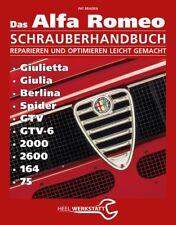 Alfa Romeo Handbuch (Giulia GT Giulietta Berlina Spider GTV 164) Buch book 105