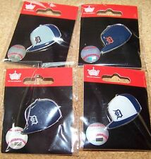 4 - Detroit Tigers logo baseball cap pins hat pin NEW for 2015