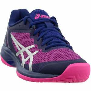 ASICS Gel-Court Speed   Womens Tennis Sneakers Shoes Casual   - Purple - Size 5
