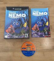 Disney Pixar's Finding Nemo (Nintendo Gamecube, 2001) Complete CIB - Ships Fast