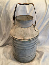 Vintage Heavy 5 Gallon Liquid Standard Oil Company Of California Can Shop Decor