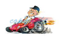 Meyers Manx Dune Buggy ATV T-SHIRT #4139 Dave Deal Off Road Automotive Art