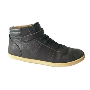 CAMPER 'Alicante' womens black leather sneakers casual shoes hightop size 39