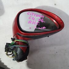CITROEN C4 , 2006 , POWER , GENUINE USED , RIGHTHAND DOOR MIRROR 7 WIRE , AS IS!