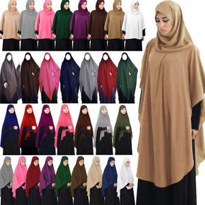 Khimar Jilbab Muslim Women Hijab One Piece Amira Islamic Niqab Burqa Abaya Dress