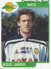 262 MICKAEL LANDREAU FC.NANTES VIGNETTE STICKER FOOT 2002 PANINI