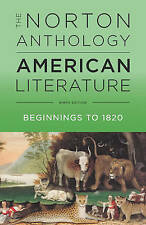The Norton Anthology of American Literature by Levine (Paperback, 2017)