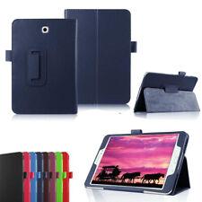 Para Tablet Samsung Galaxy Tab S S2 Abatible Cuero PU Folio Estuche De pie Cubierta Delgada