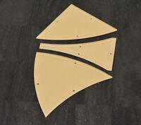 "Winding Ways Acrylic Quilting Template 10"" Block - 3 Piece Set"