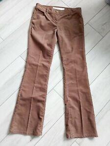 Next Size 12 Tan/Light Brown Cord Trousers Bootcut