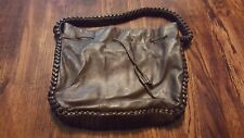 Elie Tahari Brown Large Purse Bag Leather EUC Drawstring Closure
