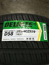 1 New 285 40 19 Delinte Desert Storm II DS8 Tire