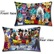 "21"" Anime DRAGON BALL Z Pillow Case Cover Dakimakura Bed Headrest Mini Gift Hx5"