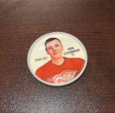 1961-62 Shirriff Salada Coin #71 Ed Litzenberger Detroit Red Wings