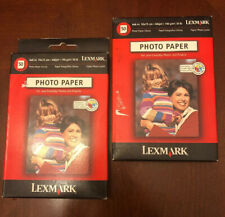 Lexmark Photo Paper 4 x 6 Inkjet Printer Glossy 100 Sheets Color Photograph