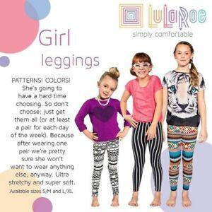 LulaRoe girls leggins select your shade and size