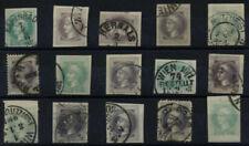 Gestempelte Briefmarken aus Österreich als Einzelmarke