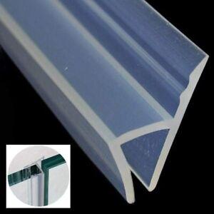120'' Shower Door Seal 3/8''Glass Strip DIY Silicone Door Bottom Sweep Stopper