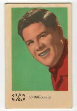 1960s Swedish Film Star Card Bilder A #50 US German Jazz singer Bill Ramsey