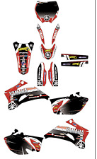 Yamaha YZF250-450 06-09 GRAPHIC KIT STICKERS YZ250F YZ450F - 2006/2009 DECAL KIT