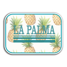 2 x 10cm La Palma Holiday Vinyl Stickers - Travel Sticker Laptop Luggage #23417