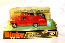 Dinky 282 Land Rover Fire Appliance, Mint Paintwork in Original Bubble Box