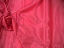 Cerise Slipper Satin/Silky/Shiny Dress Fabric 150cm Wide SOLD BY THE M FREE P+P