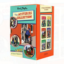 Enid Blyton Mysteries Series (7-12) Collection 6 Books Box Set NEW