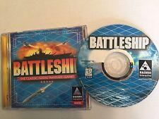 HASBRO BATTLESHIP CLASSIC NAVAL WARFARE GAME (WIN 95 PC CD) - FREE Shipping