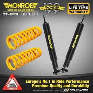 Rear STD Monroe Shock Absorbers King Springs for HOLDEN MONARO V2 II III V6 V8