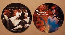 Set Of 2 Florence & The Machine Promo Stickers Lungs & Ceremonials