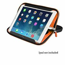 Enerplex Tablet Sleeve With Two Pockets Protective Travel Case And Stand