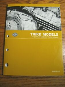 2010 Harley-Davidson FLHTCUTG FLHXXX Street Tri Glide Trike Parts Catalog