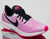 Nike Air Zoom Pegasus 35 Women's New Half Blue Pink Running Shoes 942855-406