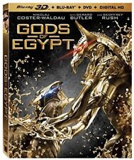 Gods of Egypt [New Blu-ray 3D] With Blu-Ray, With DVD, 3 Pack