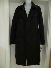 Damen Mantel von Hugo Boss Trenchcoat Business-Look  Gr. 42, schwarz